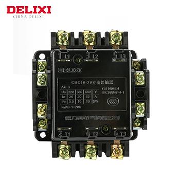 交流接触器/CDC10-10A 220V  德力西