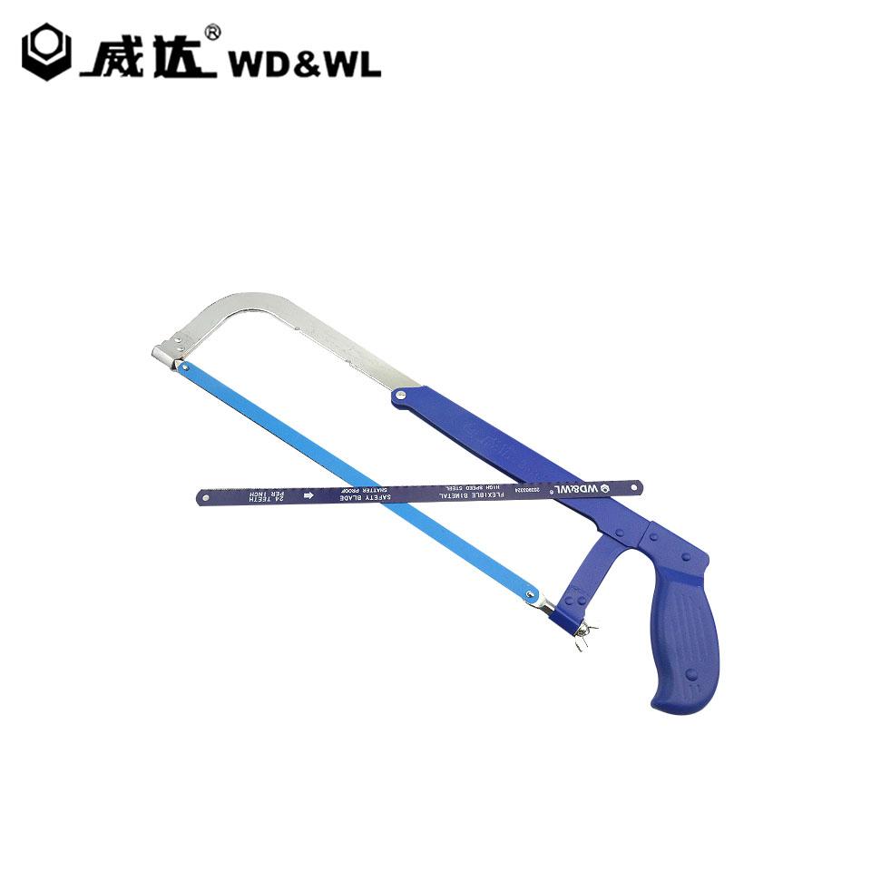 W34769可调铁柄钢锯架200-300mm/200-300mm  威达