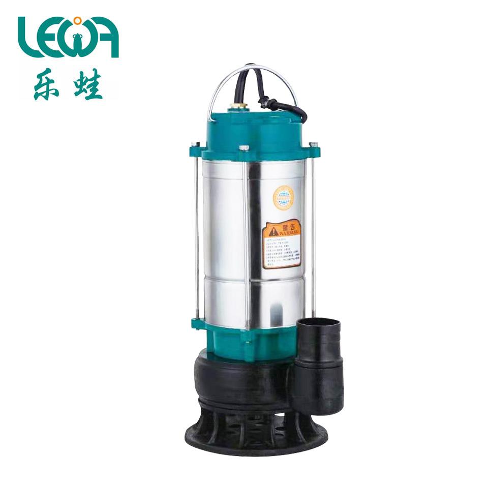 不锈钢筒污水泵/WQDX6.8-10-0.75/220V/0.75KW/2寸  乐蛙