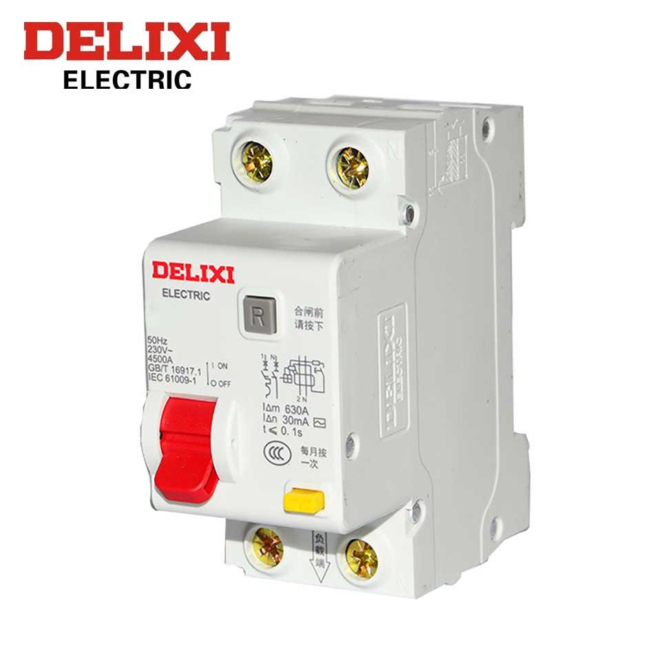 剩余电流动作断路器/DZ47PLEY-63 1P+N C 25A 30mA  德力西