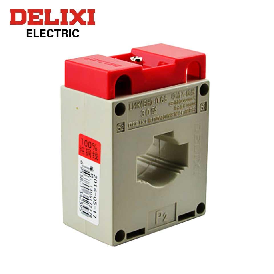 互感器/LMK(BH)-0.66 400/5 5-3.75VA Ф30   0.5级  德力西