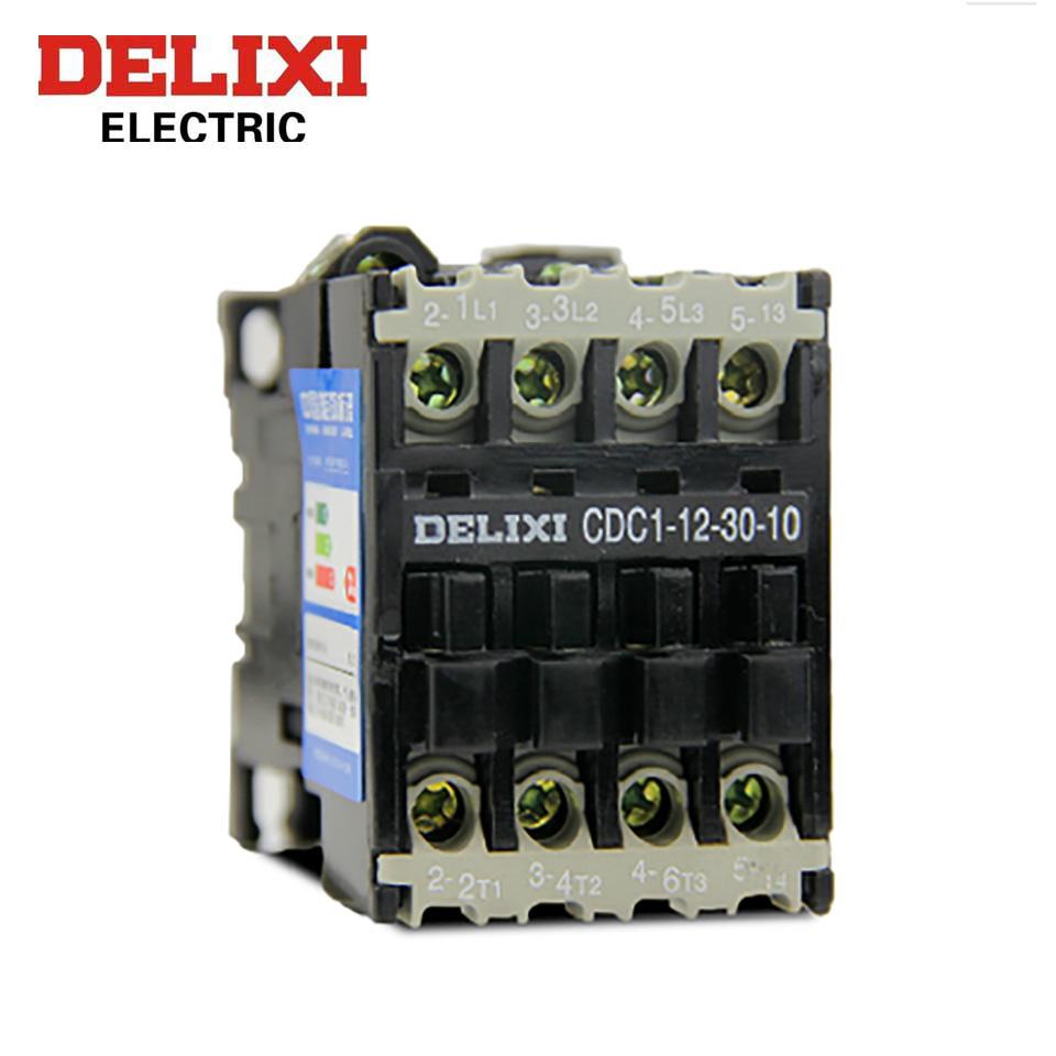 交流接触器/CDC1-12-30-10  220V  德力西