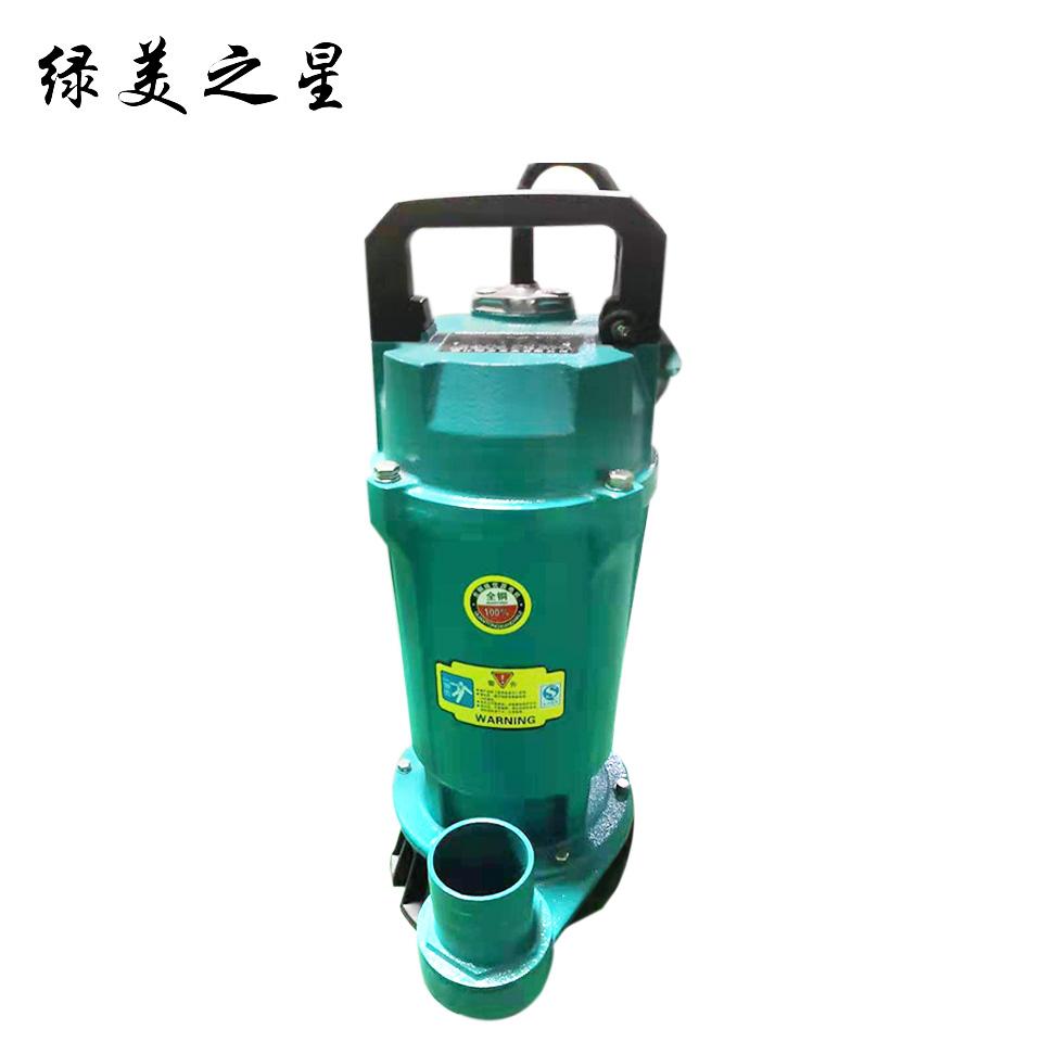 2寸小型潜水电泵/QDX10-16-1.1/铁壳版 绿美之星
