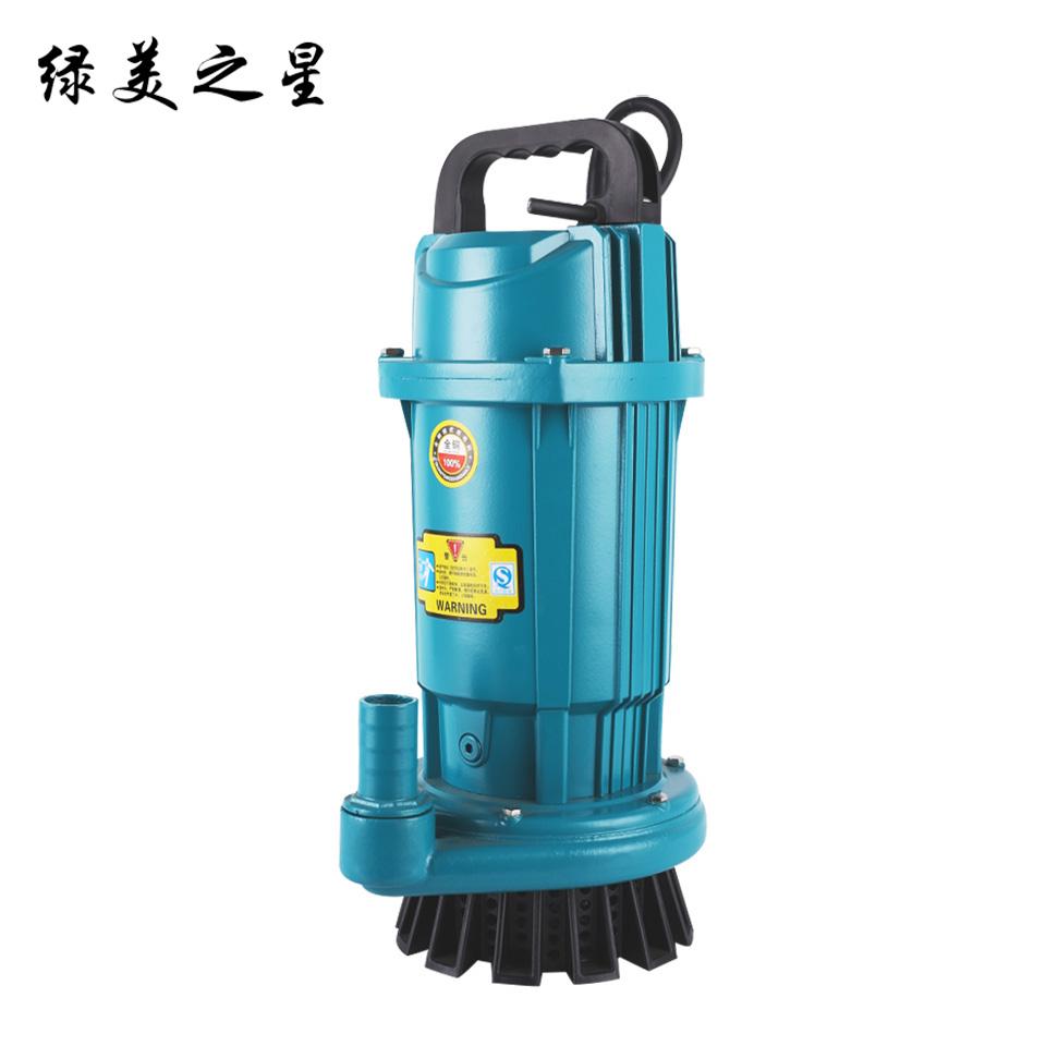 1寸小型潜水电泵/QDX1.5-16-0.37/豪华版 绿美之星