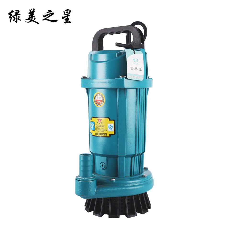 1寸小型潜水电泵/QDX1.5-40-1.1/豪华版 绿美之星