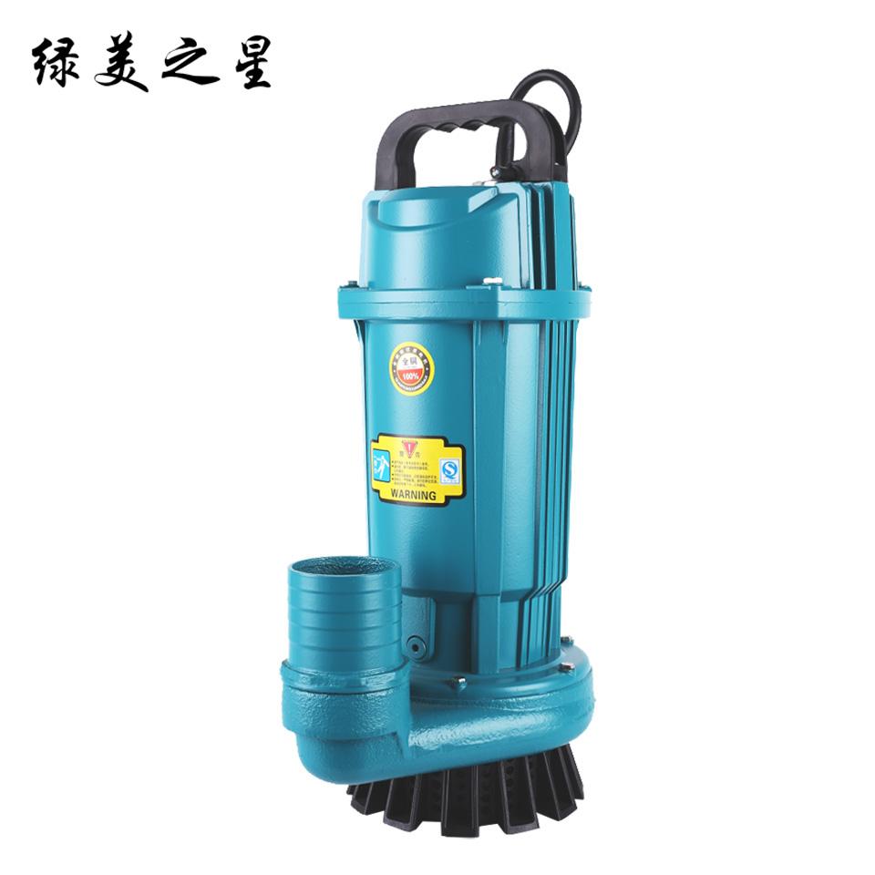 2.5寸小型潜水电泵/QDX15-10-1.1/豪华版  绿美之星