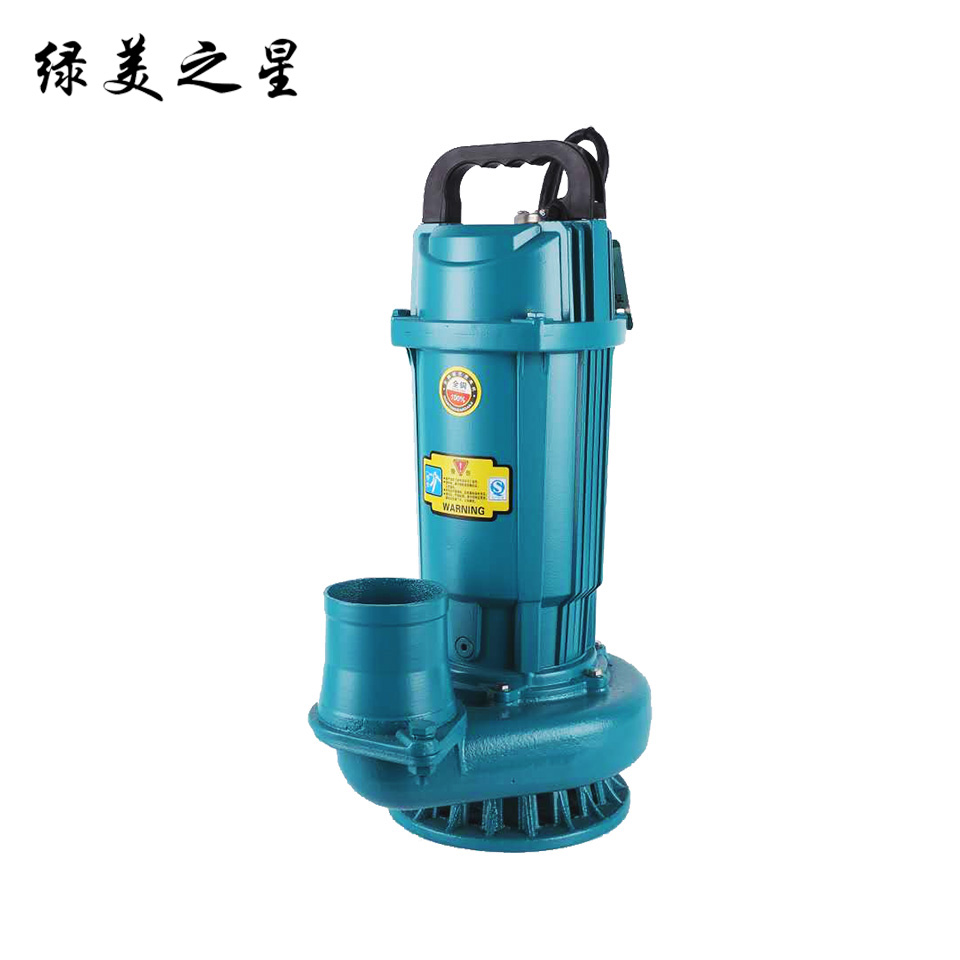 3寸小型潜水电泵/QDX40-9-1.5/豪华版 绿美之星