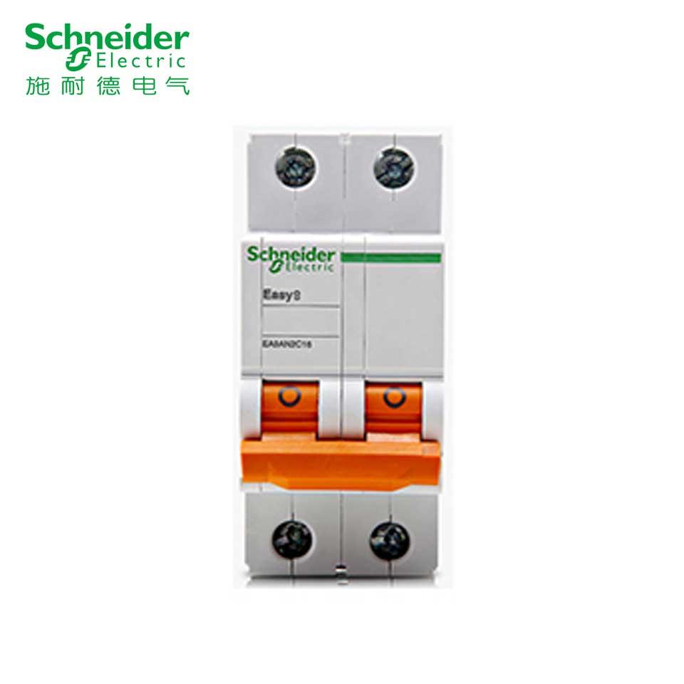 小型断路器/EA9AH 2P C100A  施耐德