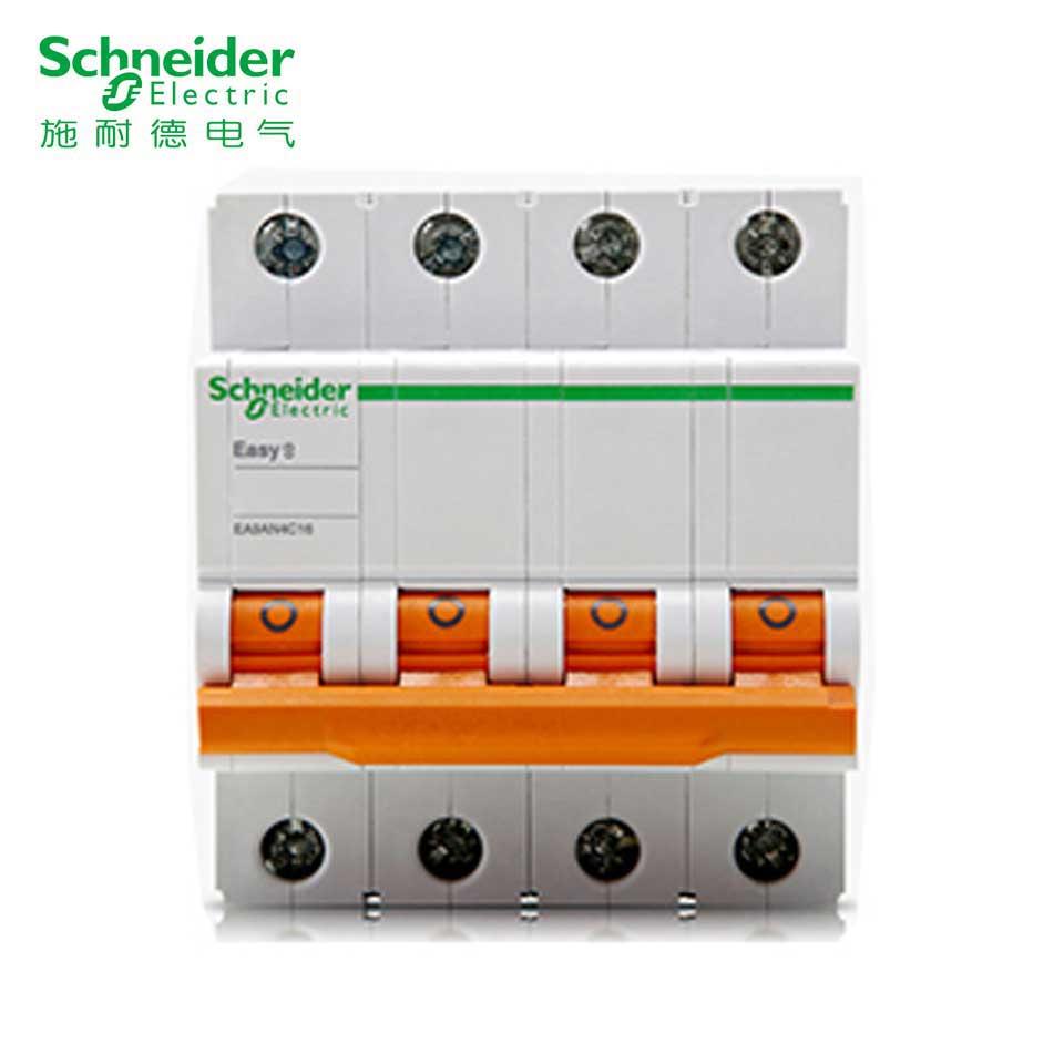 小型断路器/EA9AH 4P C100A  施耐德