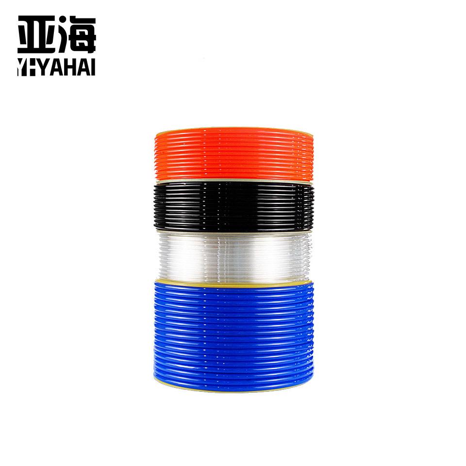 PU气管/10*6.5/红色1米(100米/卷)  亚海YAHAI
