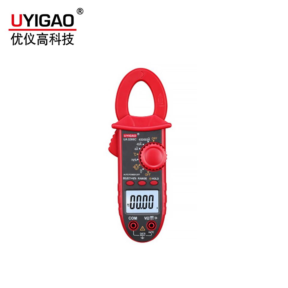 UA3268C数字小钳形表带背光带温度