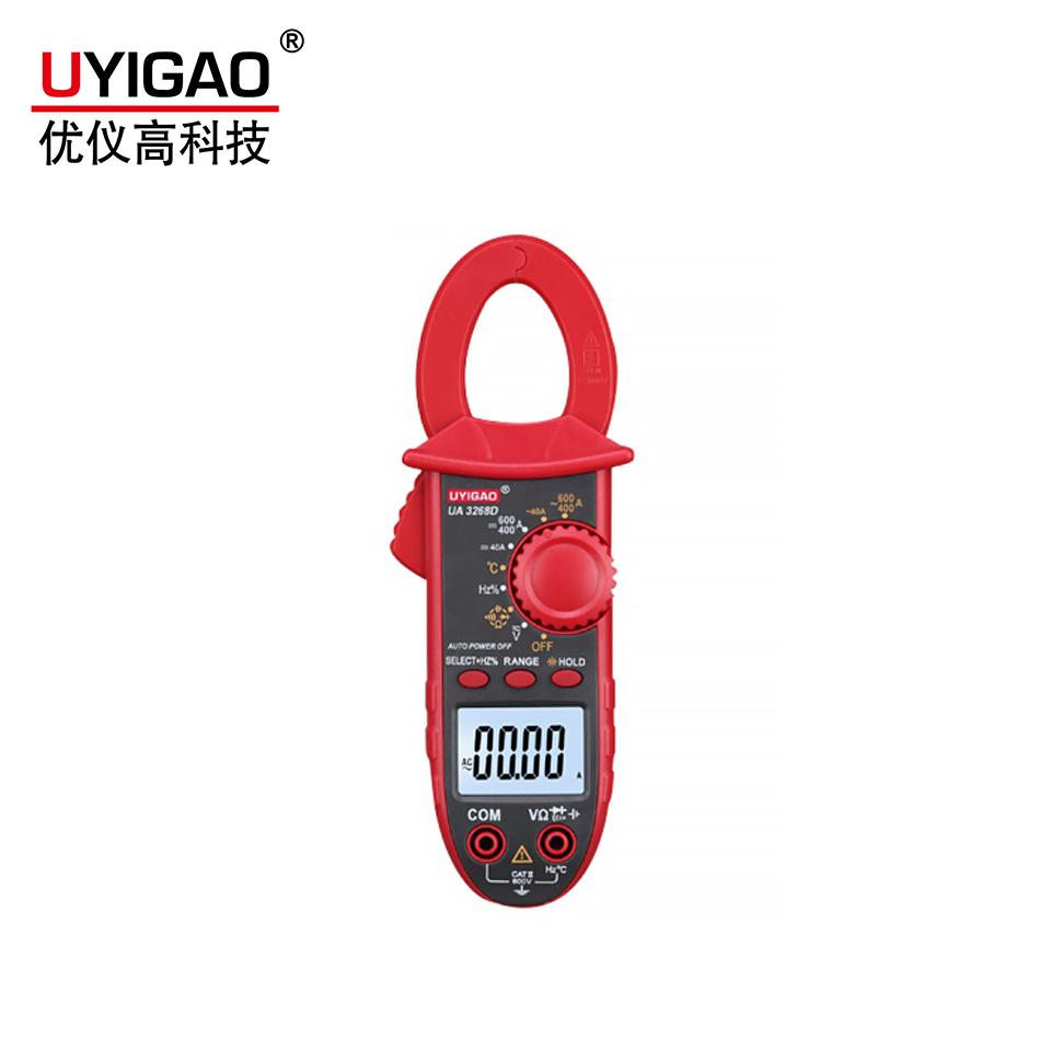 UA3268D数字交直流小钳形表带背光带温度