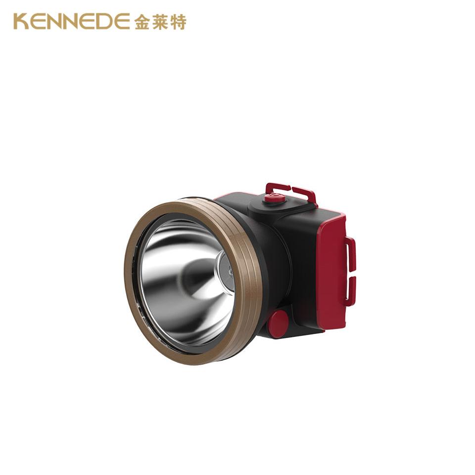 锂电照明/金莱特/LED充电锂电池头灯5W/KN-4752
