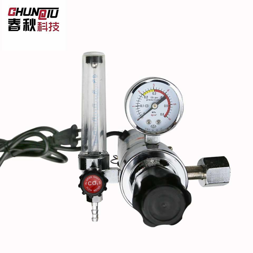 二氧化碳电加热减压气表/全铜