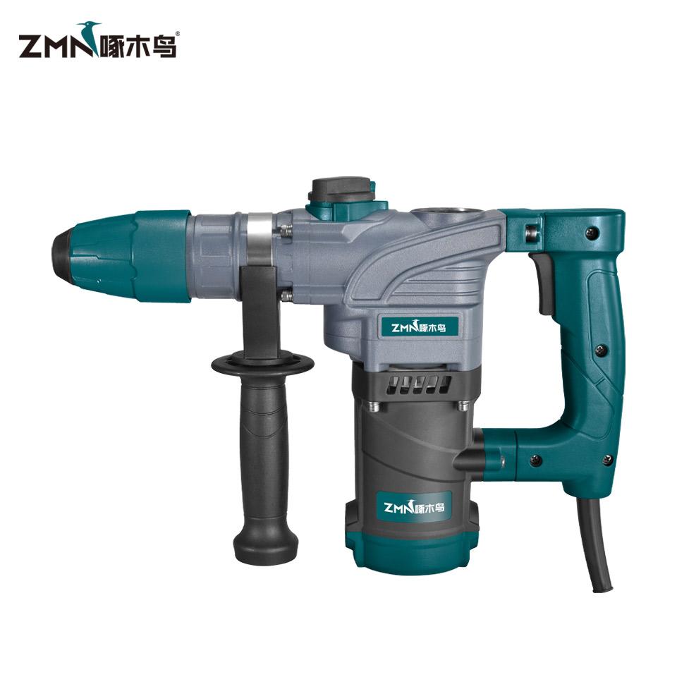 电锤 /ZMN 27B/1100W/26mm/双用/ 1件4台/啄木鸟