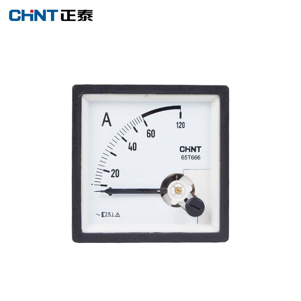 仪器仪表/安装式电表51T666-A 50/5A/正泰