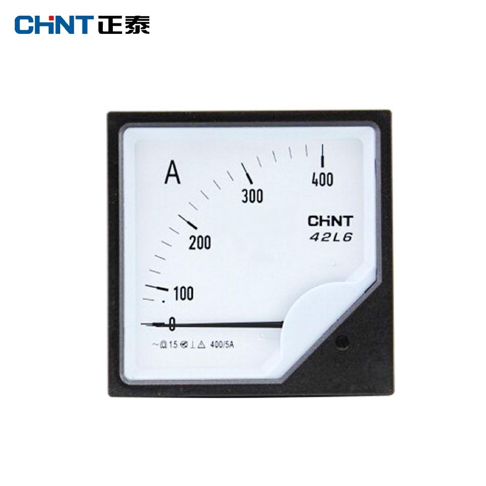 仪器仪表/安装式电表42L6-A 500/5A/正泰