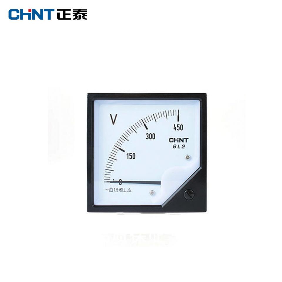 仪器仪表/安装式电表42L6-V 10KV/100V/正泰
