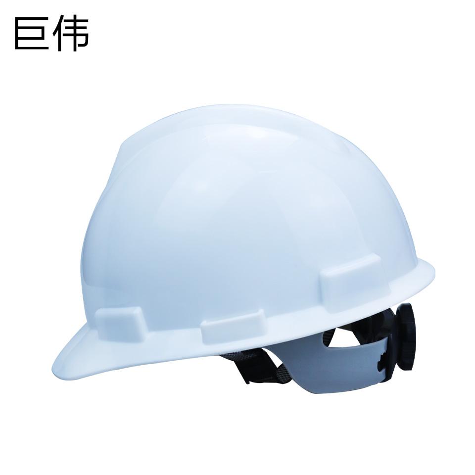 安全帽/ABS  V型  旋转按钮 无透气孔 白色