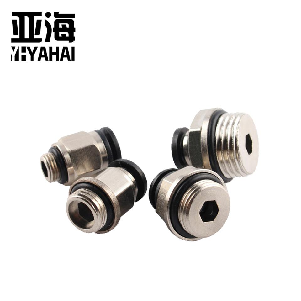 G螺纹接头/G螺纹PC10-G01 亚海YAHAI