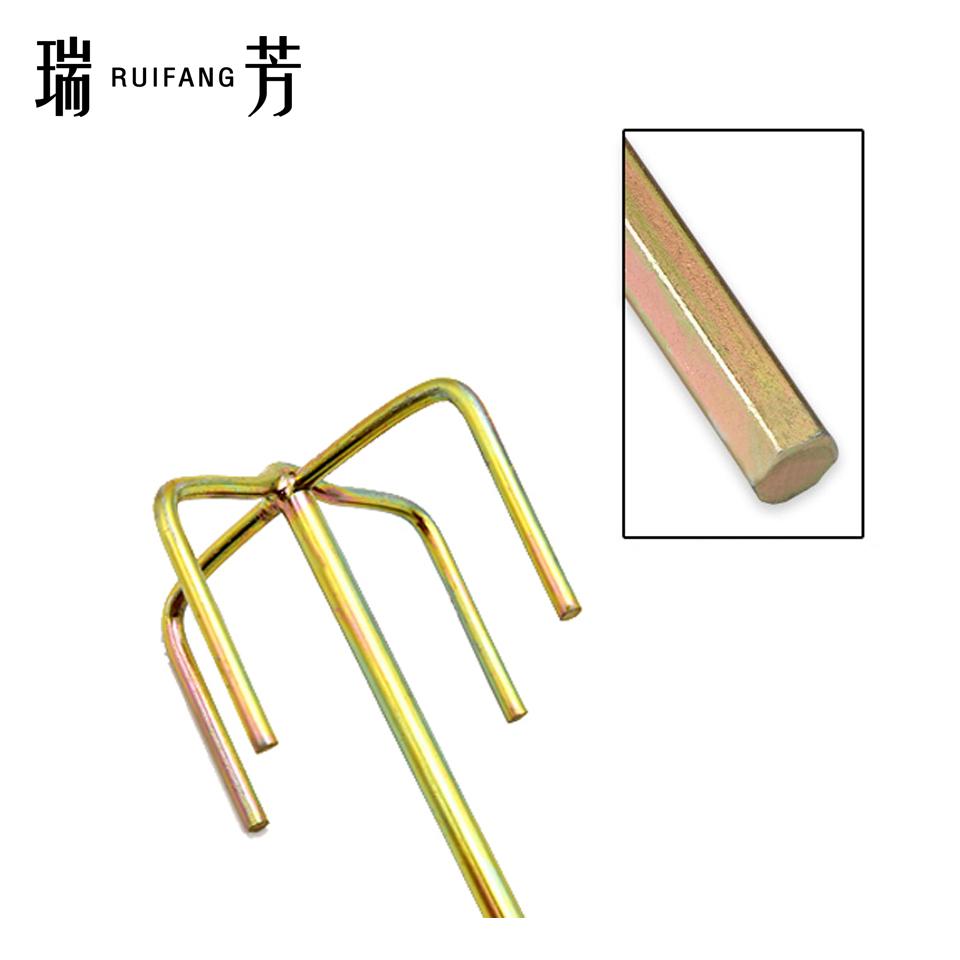 电钻用搅拌棒/双山型/六角柄 瑞芳RuiFang