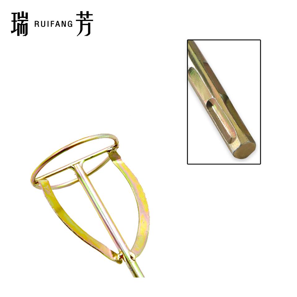 电锤用搅拌棒/S型/方柄 瑞芳RuiFang