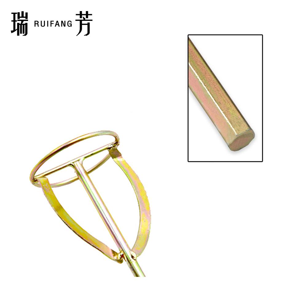 电钻用搅拌棒/S型/六角柄 瑞芳RuiFang