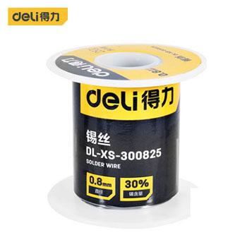 焊锡丝/DL-XS-300825锡丝30度φ0.8mm 250g(新VI) 得力