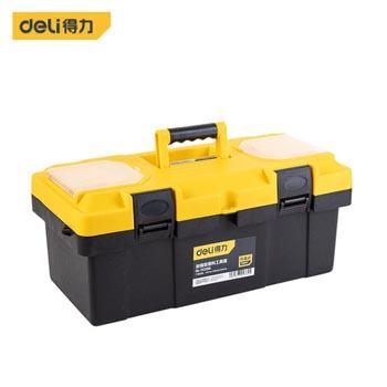塑料工具箱/DL6211塑料工具箱(黄)(新VI) 得力