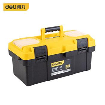 塑料工具箱/DL-TC270加强型塑料工具箱(新VI) 得力
