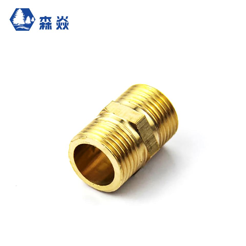 五金水暖铜配件/4分外丝(投保产品)/森焱