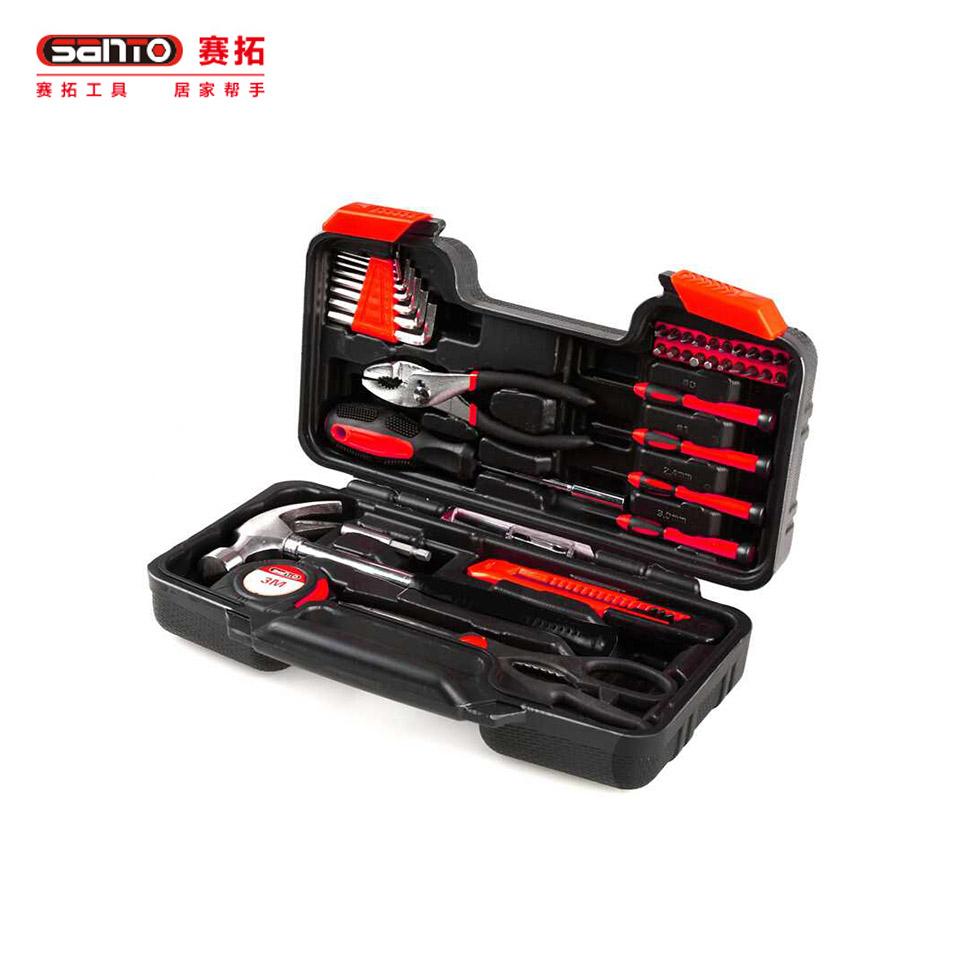 家用工具套装40件套/家用工具套装 工具箱组套40件套0379赛拓(SANTO)