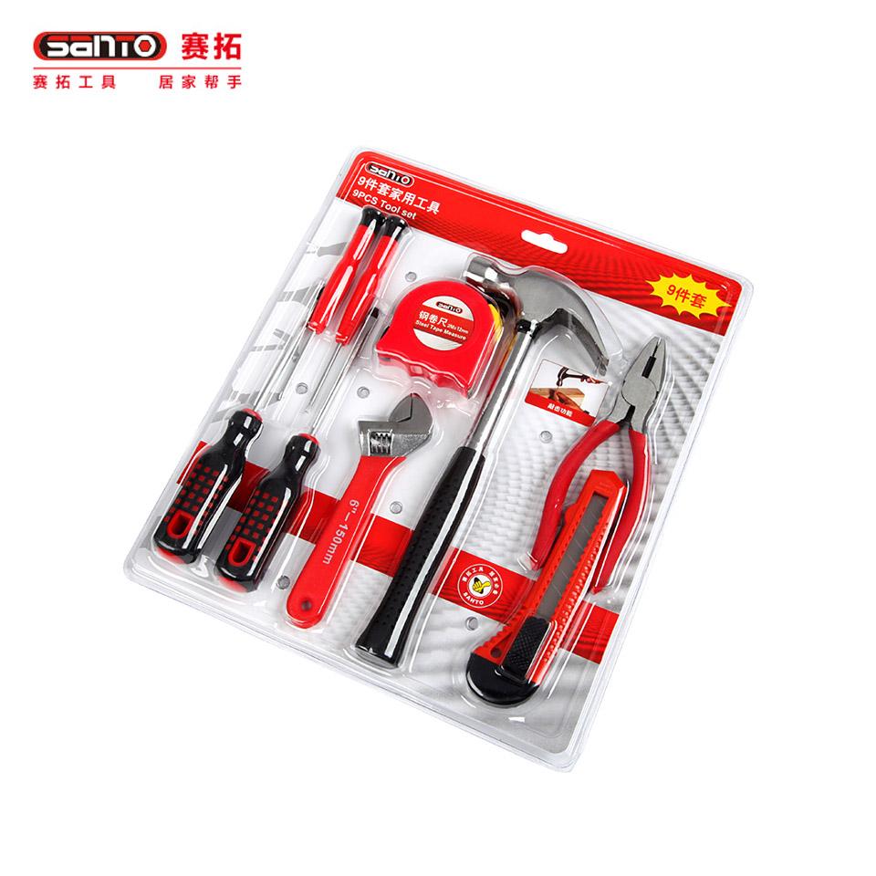 家用工具套装9件套/家用工具套装9件套0387赛拓(SANTO)