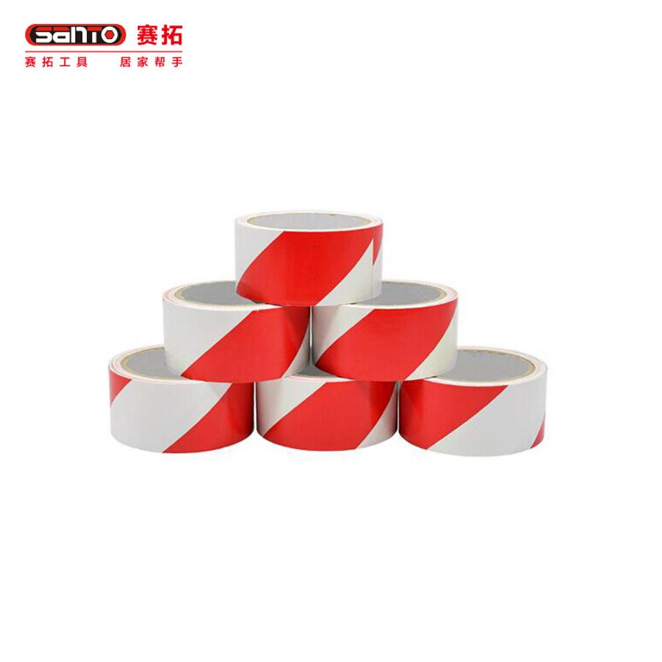 斑马警示胶带/斑马警示胶带 红白4.8cm*18Y-6卷装 20182018赛拓(SANTO)