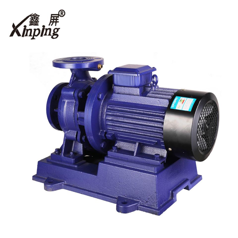 卧式管道泵/ISW100-125A-7.5KW/鑫屏