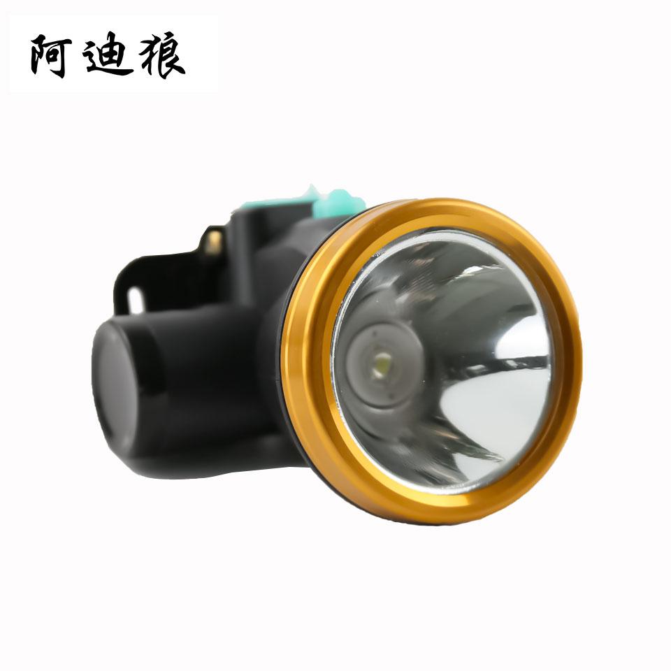 LED头灯/60W 6000K白光/小号高亮/USB线充/不含插头/阿迪狼