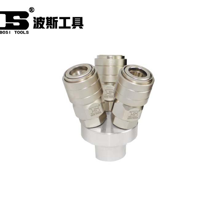 BS364027-自锁快速接头(三通)