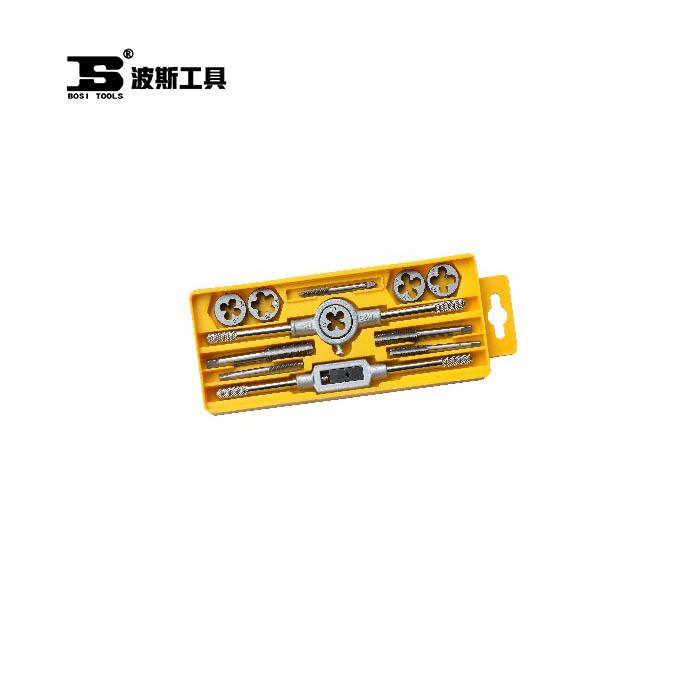 BS521112-公制丝锥板牙组套12PC