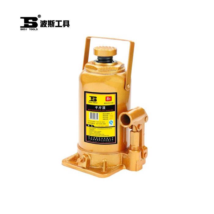 BS525106-立式油压千斤顶(土豪金)6T