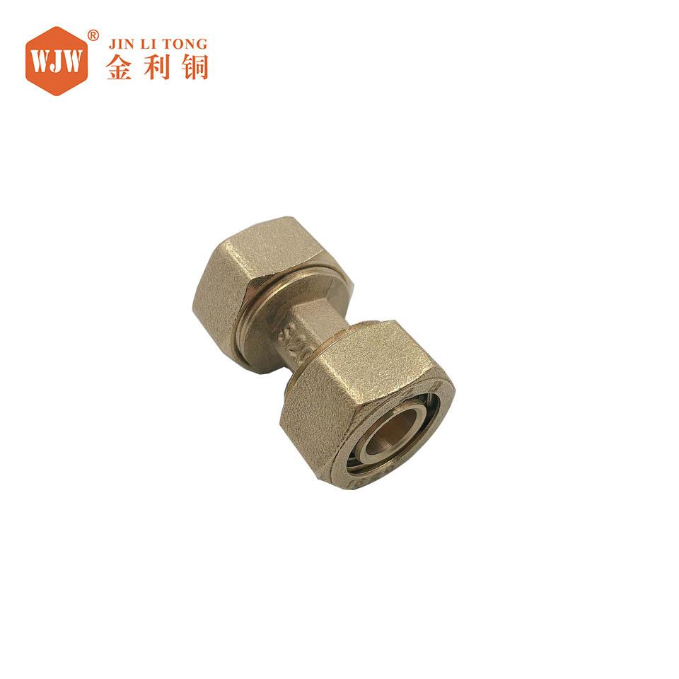 1620铝塑管正直接/铜/115g/金利铜