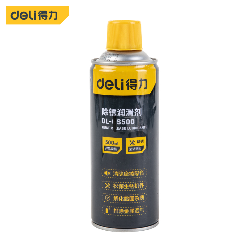 DL-GS500/除锈润滑剂500ml/得力